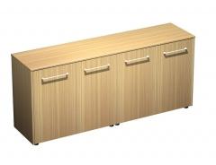 Шкаф для документов низкий закрытый (стенка из 2 шкафов)