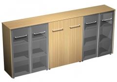 Шкаф комбинированный средний