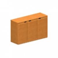 Шкаф низкий закрытый (трёхдверный)